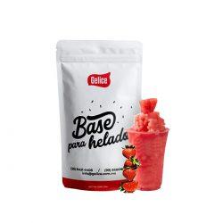 Gelice bases para helado fresa