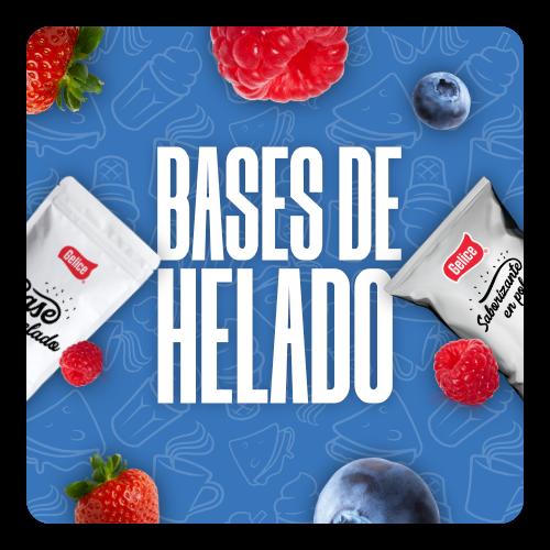 Bases para Helado