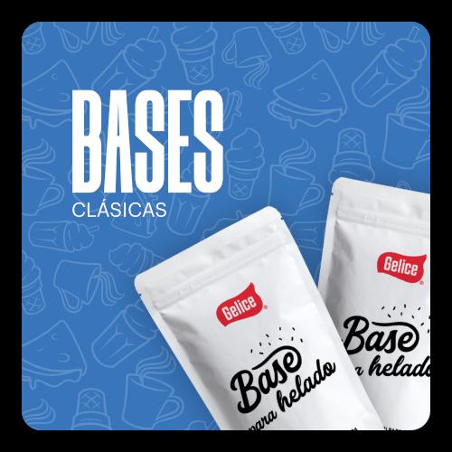 Bases Para Helado Clásicas