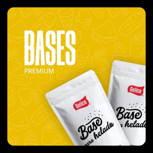 Bases para Helado Premium