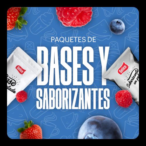 Paquetes De Bases Y Saborizantes